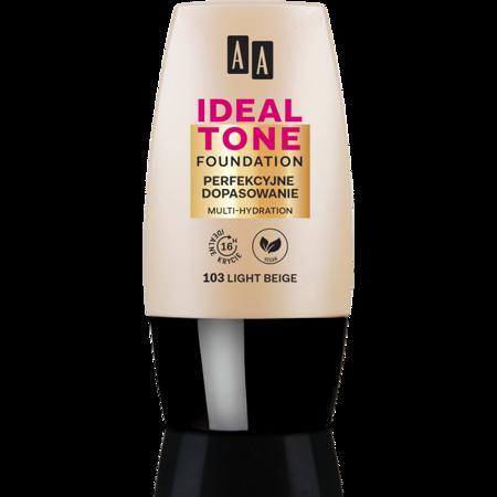 AA Make Up Ideal Tone Podkład perfekcyjne dopasowanie 105 sand 30 ml