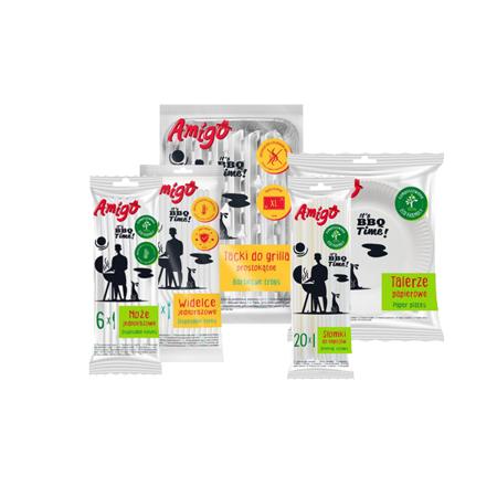 AMIGO Zestaw piknikowy - 5 elementów