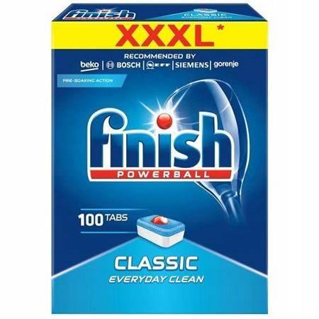 Finish Powerball Classic tabletki do zmywarki 100 szt.